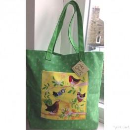 Alex Clark Large Canvas Shopper Bag - In The Tree