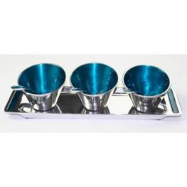Azeti Condiment Set - Blue