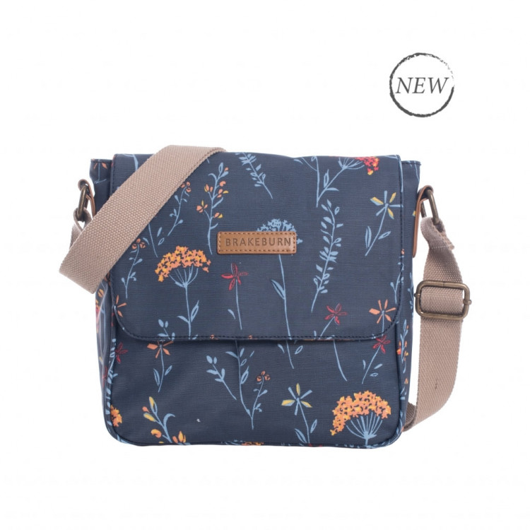 Brakeburn Summer Dandelion Cross Body Bag Navy