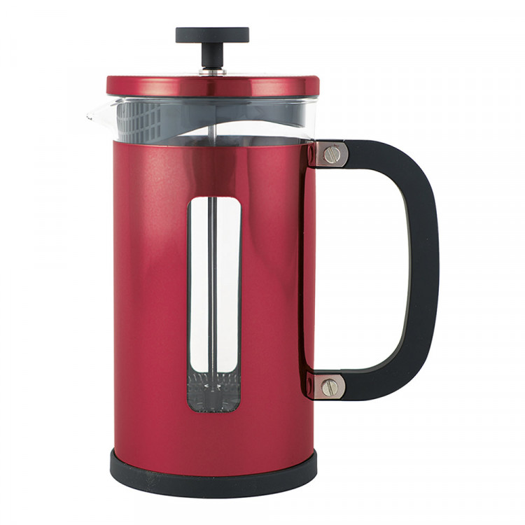 La Cafetiere Pisa 8 Cup 1000ml Red Coffee Maker with Scoop - 5164407