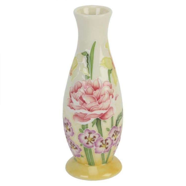 Old Tupton Ware Sunshine Pattern Vase 6 Inch