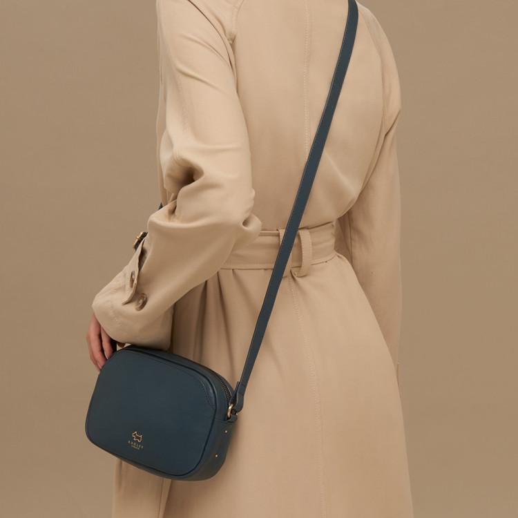 2a8c4bd02571 Radley Greyfriars Gardens Leather Small Zip-Top Cross Body Bag ...