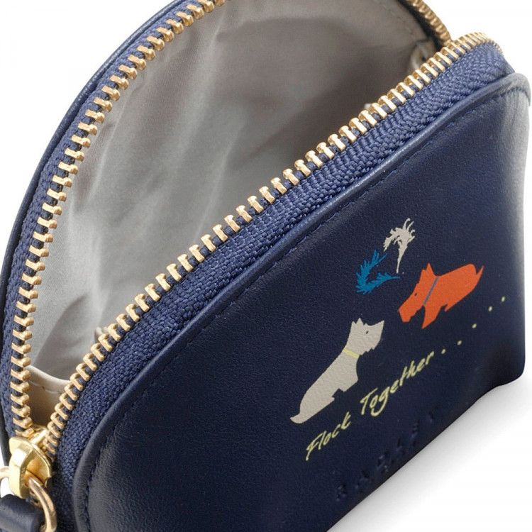 radley birds of a feather small zip around coin purse midnight  radley birds of a feather small zip around coin purse midnight blue