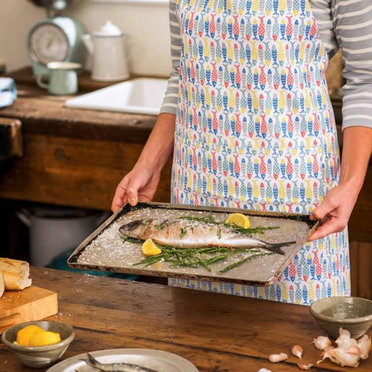 Seasalt schooling fish oil cloth apron 608sfh for Sfh fish oil