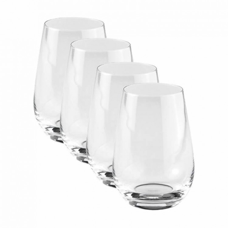 villeroy and boch vivo voice basic set of 4 highball glass tumblers 19 5300 8260. Black Bedroom Furniture Sets. Home Design Ideas