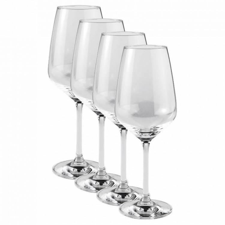 villeroy and boch vivo voice basic set of 4 white wine glasses 19 5300 8120. Black Bedroom Furniture Sets. Home Design Ideas