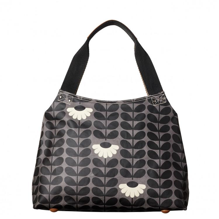 Orla Kiely Wild Daisy Classic Zip Shoulder Handbag 80c0cd1fc4062